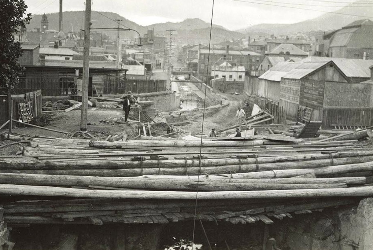 The Wapping District and Hobart Rivulet, 1915